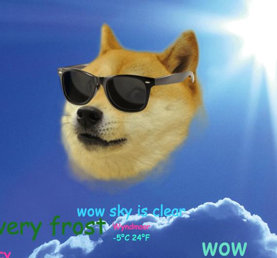 DogeWeatherClear