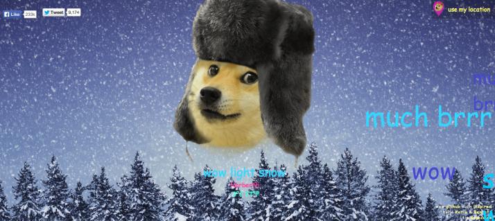 DogeWeatherSnow