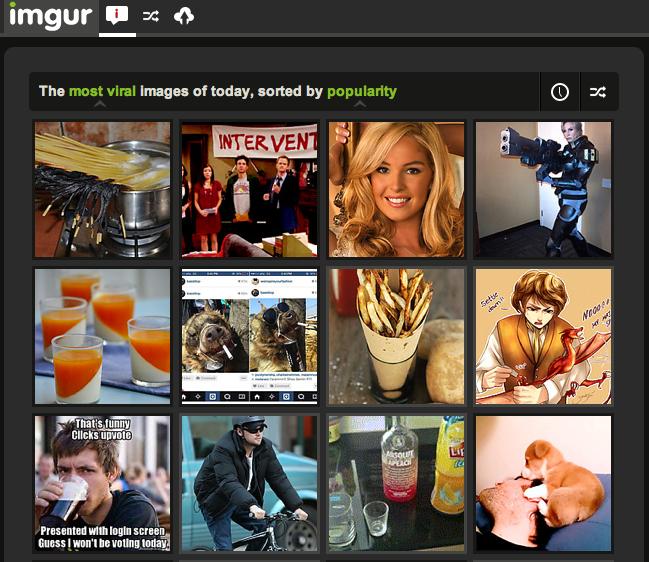 ImgurFrontPage